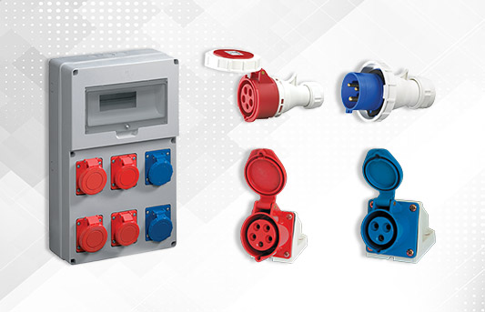 Industrial Plugs and Sockets, Boards